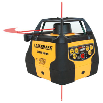 8257 CST Berger Lasermark Rotary Laser LM800