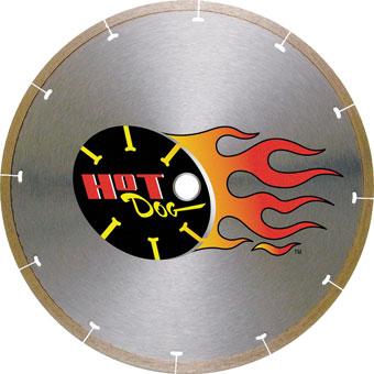 6060 MK-225 Porcelain Diamond Blade (Hot Dog)