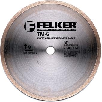 6035 Felker 8in TM-5 Diamond Blade