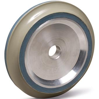 9626 20mm Arbor Resin Bond Polishing Wheel by MK Diamond