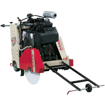 8311 Edco SS-35 35 HP Self-Propelled Concrete Saw