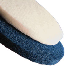 5915 Blue Medium Floor Pad