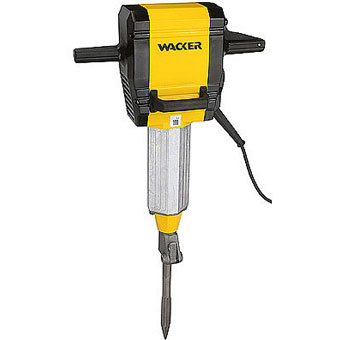 9322 Wacker EH 27 Electric Breaker with Cart Point and Chisel