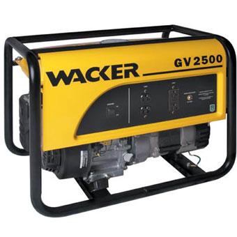 9347 Wacker GV 2500A Portable Generator