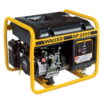 9351 Wacker GP 2500A Portable Generator