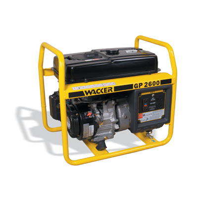 9352 Wacker GP 2600 Portable Generator