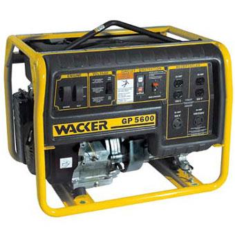 9354 Wacker GP 5600A Portable Generator