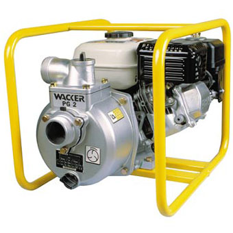 9358 Wacker PG 2A 2in Centrifugal Dewatering Pump