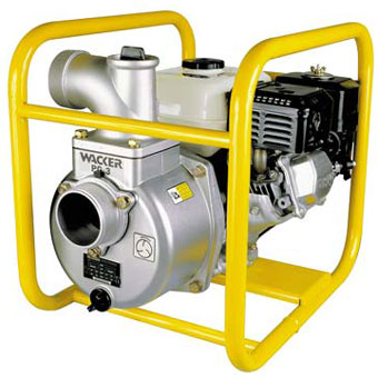 9359 Wacker PG 3A 3in Centrifugal Dewatering Pump