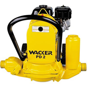 9363 Wacker PDT 2A 2in Diaphragm Trash Pump