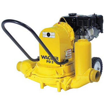 9364 Wacker PDT 3A 3in Diaphragm Trash Pump