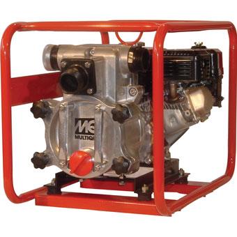 9391 Multiquip QP3TE & QP3TH 3in Gas Trash Pump