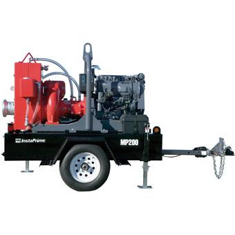 9395 Multiquip 8in High Flow InstaPrime Pump Deutz Diesel Engine