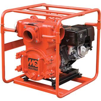 9396 Multiquip QP4TE & QP4TH 4in Gas Trash Pump