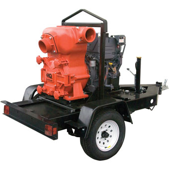 9410 Multiquip 6in MQ-62TDD Pump Deutz Diesel Engine