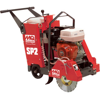 9412 Multiquip SP2 20in Self-Propelled Floor Saw