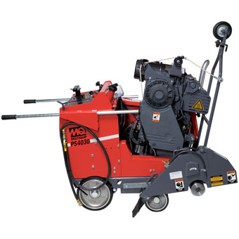 9413 Multiquip PS4030 Self-Propelled Pavement Saw