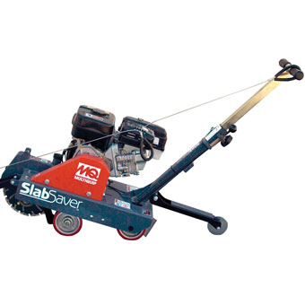 9414 Multiquip SlabSaver Green Concrete Saw