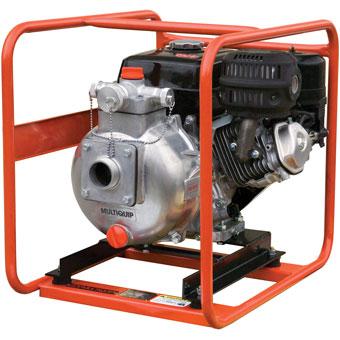 9418 MultiQuip QP205SLT 2in High Pressure Centrifugal Dewatering Pump