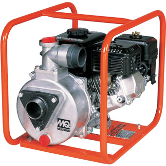 9420 Multiquip QP204E & QP204H 2in Gas Centrifugal Pumps