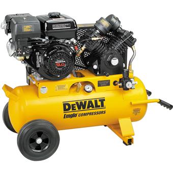 9428 Dewalt D55695 9 HP 17 Gallon Gas Wheeled Portable Compressor
