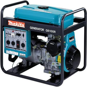 9447 G6100R & G6101R Makita Generator 5,800W