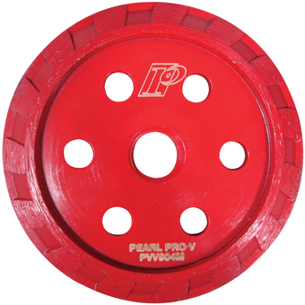 9457 Pearl Abrasive Diamond ProV 4-1/2in Crack-Chaser Blades