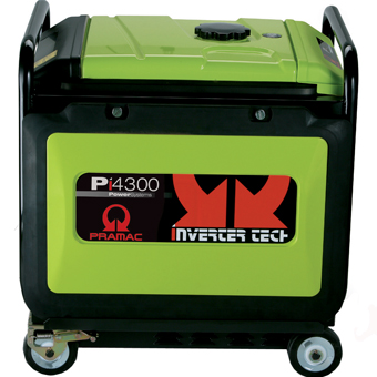 9464 Pramac Pi4300 Inverter Generator 4,300W