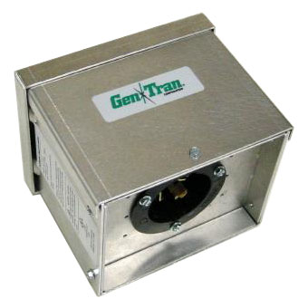 9507 Pramac 5Kw 7.5Kw 12kW Rain Tight Power Inlet Box