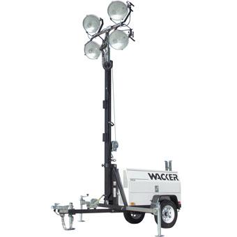 9517 Wacker LTC 4L Light Tower Lombardini Diesel