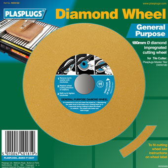 5558 Plasplugs Master Tiler 7in General Purpose Blade