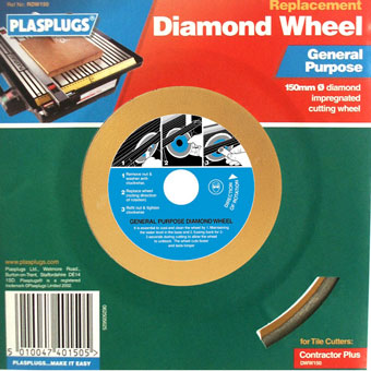 9538 Plasplugs Master Tiler 6in General Purpose Blade