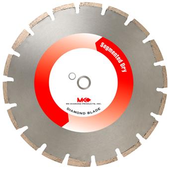 7755 MK-699DE Premium Concrete/Asphalt/Green Concrete Diamond Blade