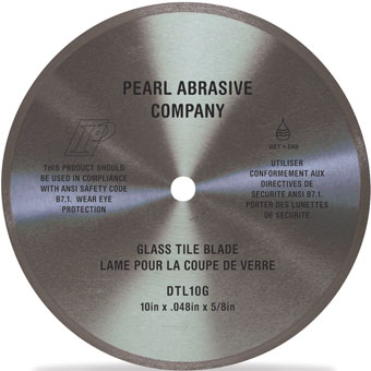 9546 Pearl DTL10G Glass Cutting Blades