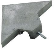 30103 Dual 45 Angle Guide for Husqvarna, Target, & Felker Tile Saws
