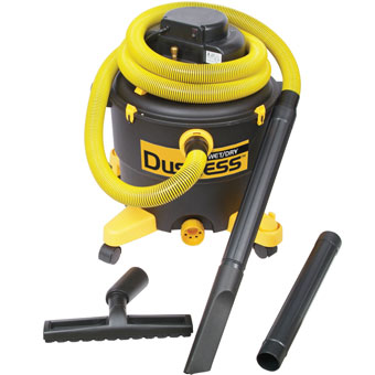 9575 TeqVac Dustless Wet/Dry Vacuum