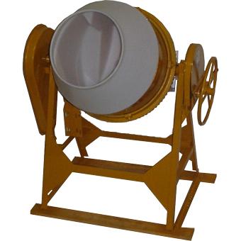 7929 Cleform Gilson 400CM-PL Poly Drum Concrete Mixer 59027