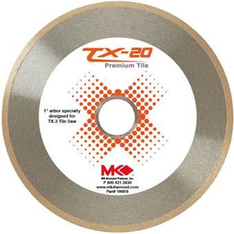 9634 MK-TX3 10in. Diamond Blades
