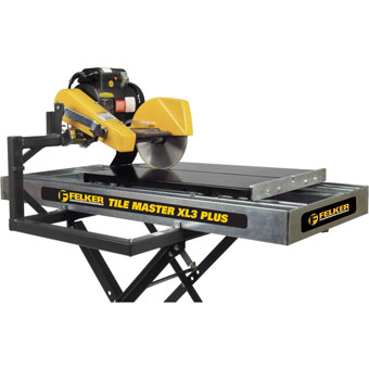 9644 Felker Tile Master XL3 Plus High Production Tile Saw
