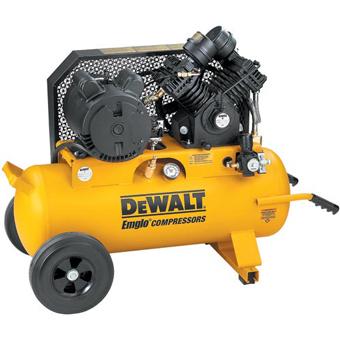 9427 Dewalt D55395 3 HP 17 Gallon Electric Wheeled Portable Compressor 230V