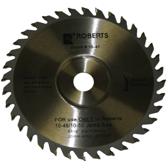 5844 QEP Roberts 10-47 6-3/16 in. Jamby Repl. Blade