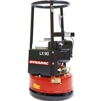 9673 Dynapac LX90 18in Round Forward Soil Plate Compactor