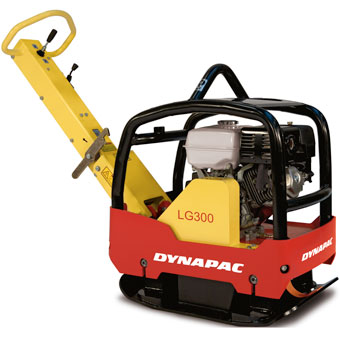 9676 Dynapac LG300 24x29in Forward & Reversible Soil Plate Compactor