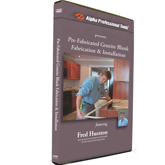 9211 Alpha Pre-Fabricated Granite Blank Fabrication & Installation DVD