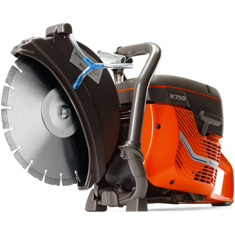 6885K Partner by Husqvarna K750 Concrete Saw w/ VH5 diamond blade