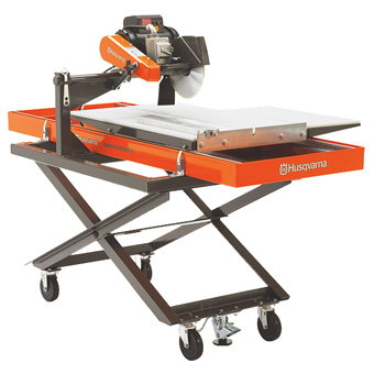 3007 Husqvarna TS 250 XS Stonematic Wet Saw