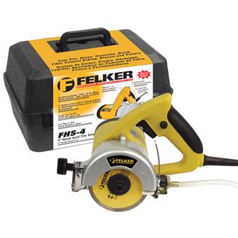 7480 Felker FHS-4 Wet/Dry Electric Tile Cutter