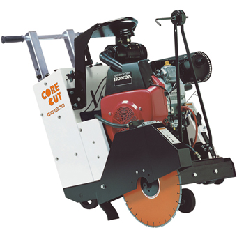 9200 Core Cut CC1800 Push Concrete Saw