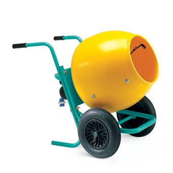 5993 Imer Wheelman II Gas Concrete Mixer