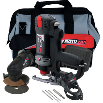 9184 RotoZip RZ20-4200 Spiral Saw Kit with Jig Saw Handle